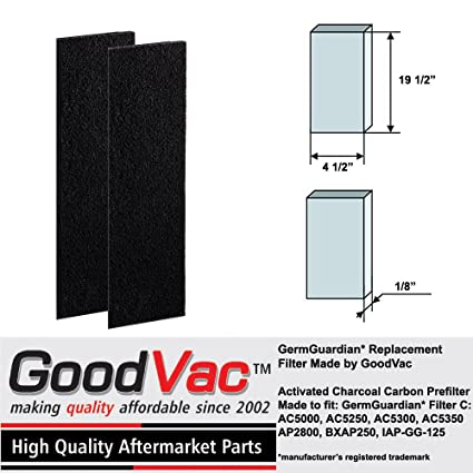 .com: germguardian ac5000 filter c carbon filter replacement ...