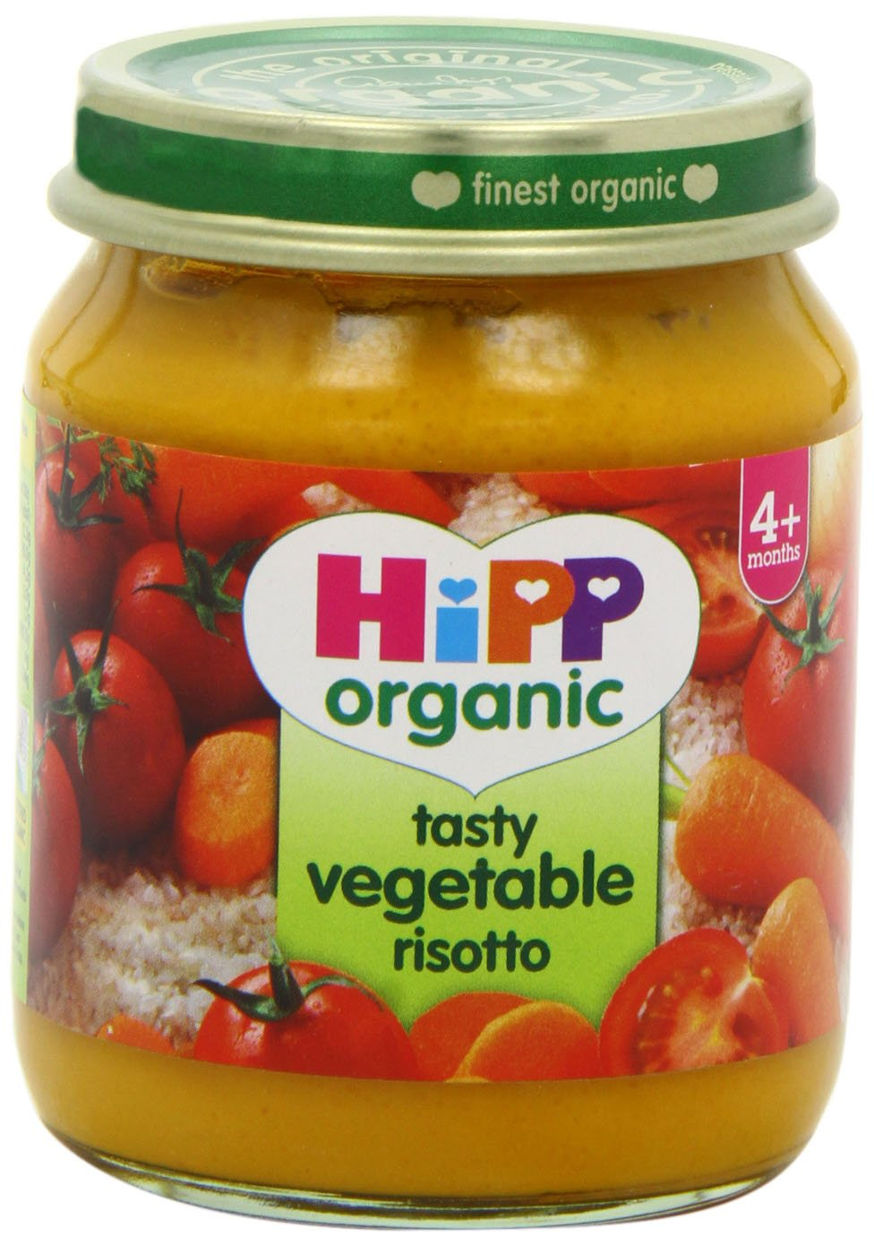 Hipp Organic Tasty Vegetable Risotto Stage 1-4 Months 125 g (Pack of 12)