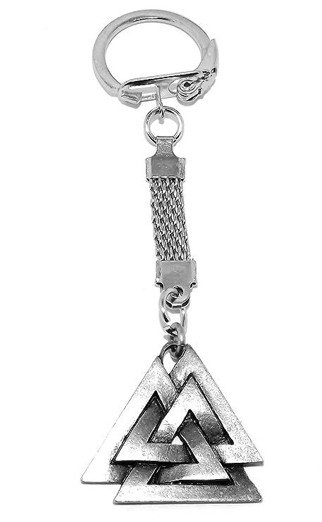 Odins valknot (Valknut Viking llavero): Amazon.es: Jardín