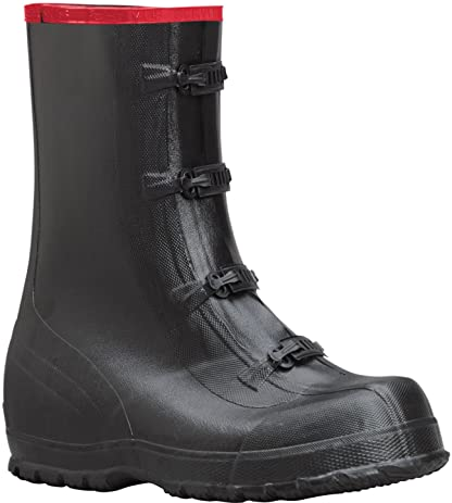 "Ranger 13"" Rubber Supersized Men's Overboots Black (T419)"