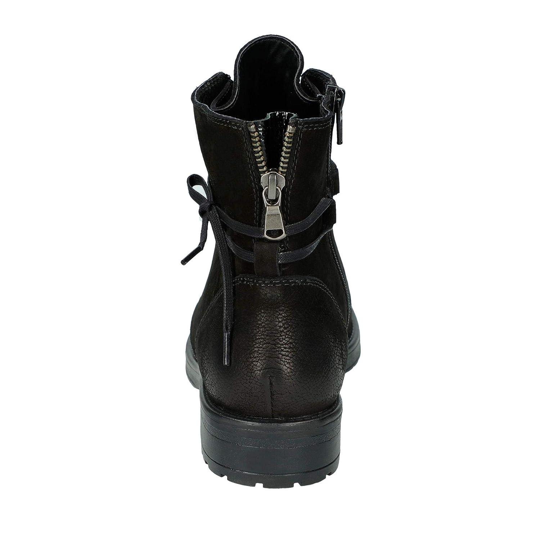 DW05-3507-16 modische Damen Damen Damen Stiefelette aus Nubukleder mit Reißverschluss c9658b
