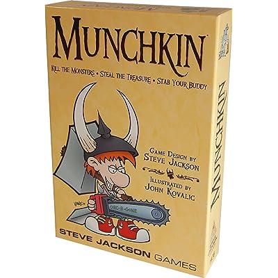 Munchkin: Jackson, Steve, Kovalic, John: Toys & Games