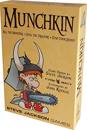 Munchkin: Kill the Monsters, Steal the Treasure, Stab Your Buddy