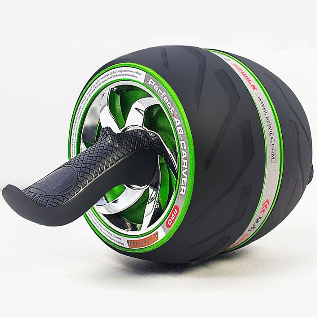 Big seller AB Roller Doppel-Bauch-Rolle Sportrad und Knieschoner mit Soft-Grip-Griff für Core-Fitness-Übungen für die Bauchmuskulatur. AB Roller Bauchtrainer