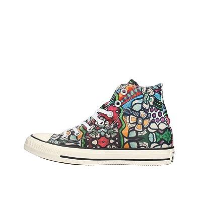 All Star Hi Can Graphics Unisex Mod. 152765C Mis. 39.5 Crime London Chaussures Crime London 11216KS1.30 Petite Sneakers Homme Gris Crime London soldes udl6Ftf