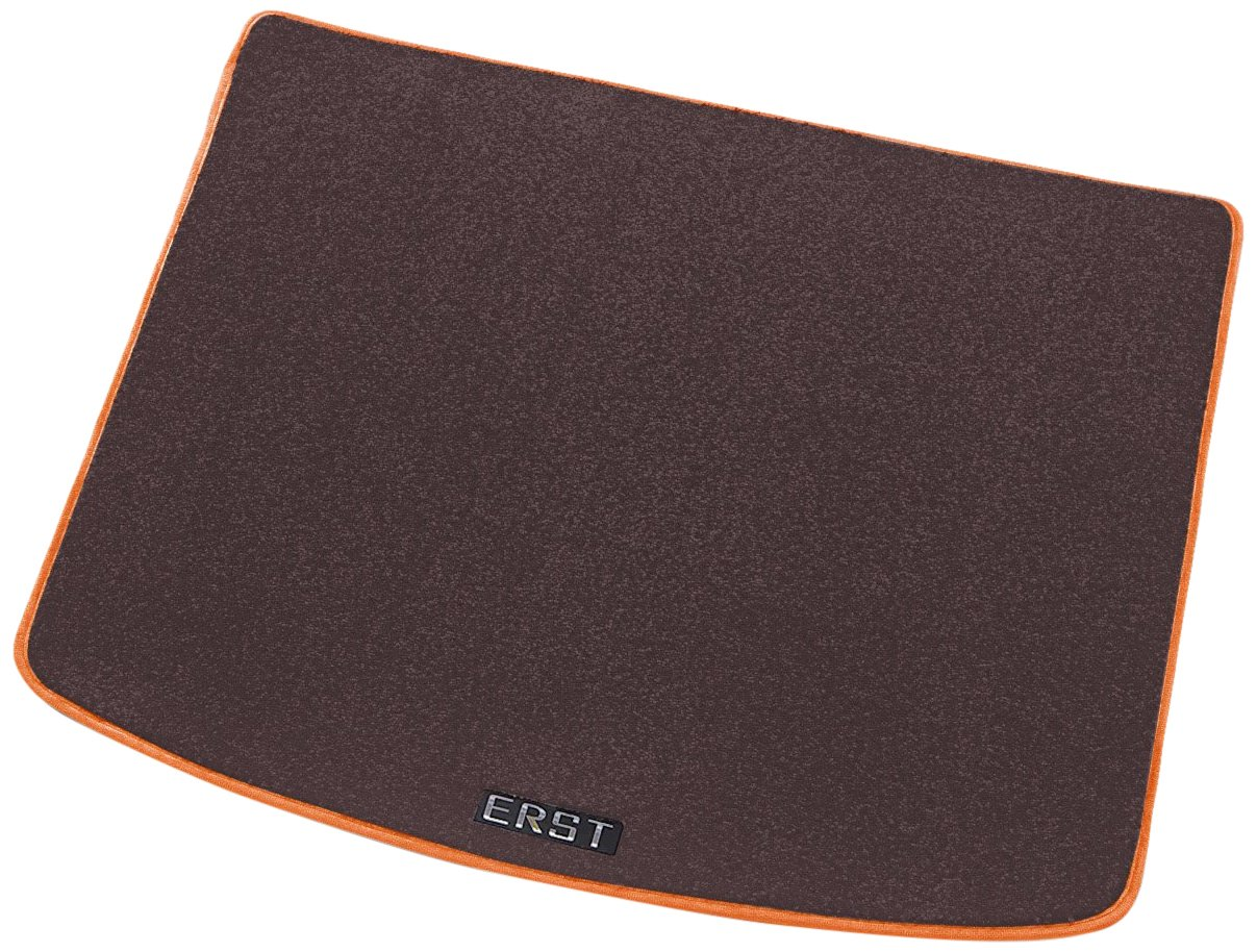 ボルボ専用ERST(エアスト) V40 (MB) カスタムフロアマット(ラゲッジ) マット本体カラー:ブラウン/マットエッジ:オレンジ NO B0105SQ85W 本体カラー:ブラウン/マットエッジ:オレンジ NO 本体カラー:ブラウン/マットエッジ:オレンジ NO