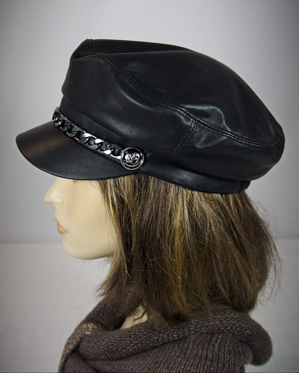 Mens Womens Girls Fiddler Cap Ladies Baker Boy Hat Newsboy Cap Bretton Hat