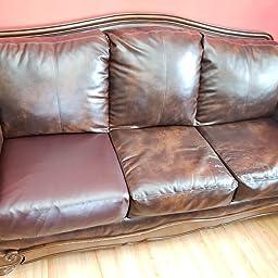 Amazon.com: subrtex Spandex Elastic Damask Couch Cushion ...