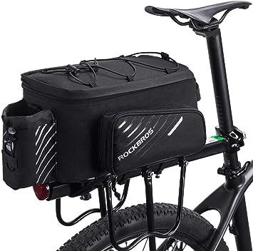 ROCKBROS Bolsa Trasera de Asiento Portaequipajes de Bicicleta con ...