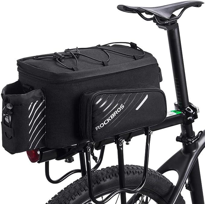 Fahrrad- Gepäcktasche Satteltasche Wasserdicht mit Regenhaube