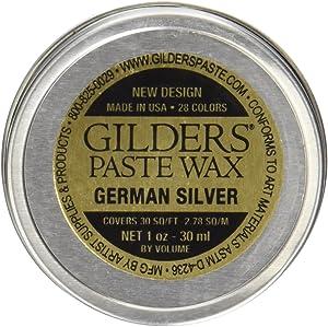 Baroque Art Gilders Paste 1 Ounces-German Silver