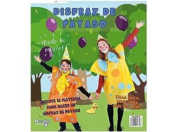 Niefenver Disfraz Bolsa Plástico Payaso: Amazon.es: Juguetes ...