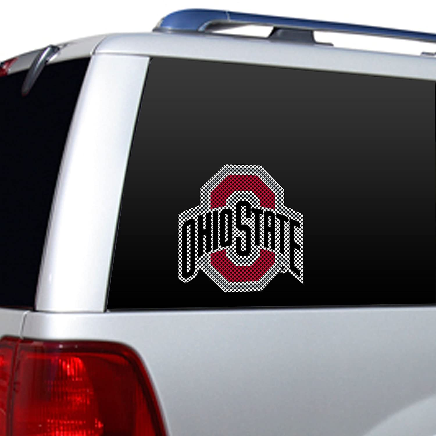NCAA Oregon Large Window Film One Size Red Fremont Die 562