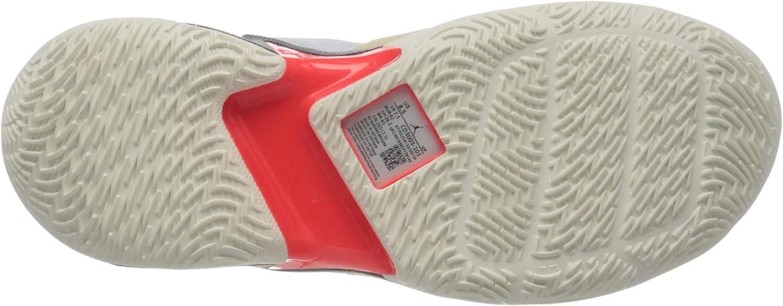 Nike Men's Training Basketball Shoe White Univ Red Black Mtlc Silver