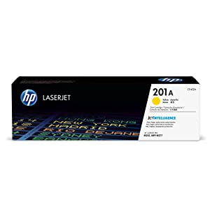 HP 201A (CF402A) Toner Cartridge, Yellow for HP Color Laserjet Pro M252dw M277 MFP M277c6 M277dw MFP 277dw