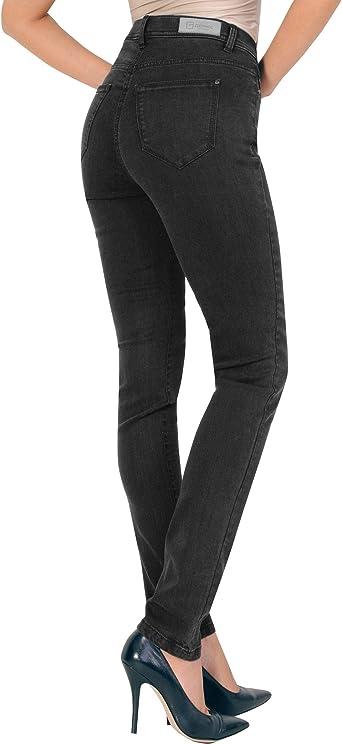 Gerke My Pants Jeans LILO czarny - (23217 LILO 2 RÖHRE799FB:89): Odzież