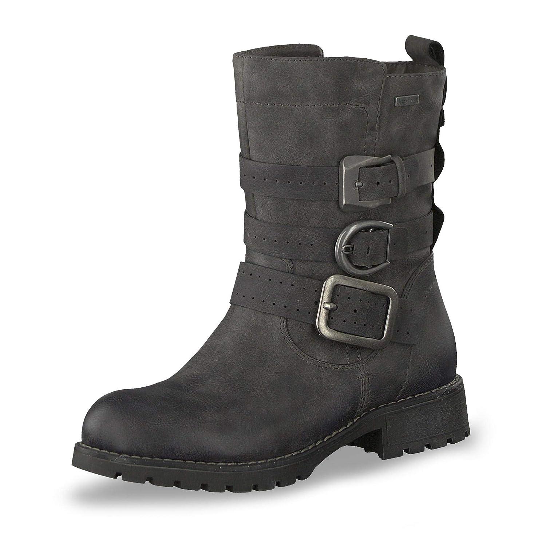 Jana 26408-21 Damen Sportiver TEX-Stiefel aus Lederimitat warm gefüttert Weite H