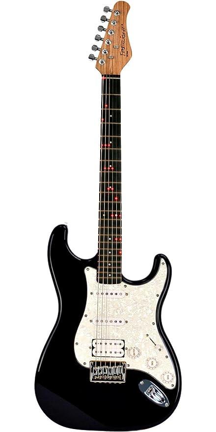 fretlight Guitarra Eléctrica Inalámbrica con integrado Sistema de aprendizaje con luz LED: Amazon.es: Instrumentos musicales