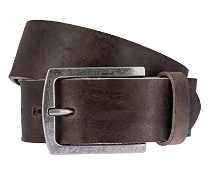 Lloyd Leder Gurtel 1013 Grau Und Braun Farbe Brauntone Lange 85 Cm