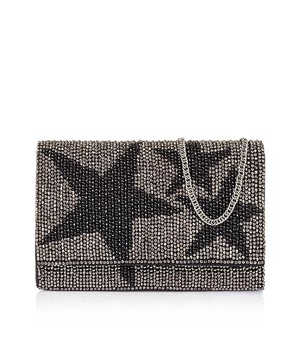 STARLITE Bolso de mano Vip, Sacs portés main femme, (Black), 5x20x26 cm (W x H L)