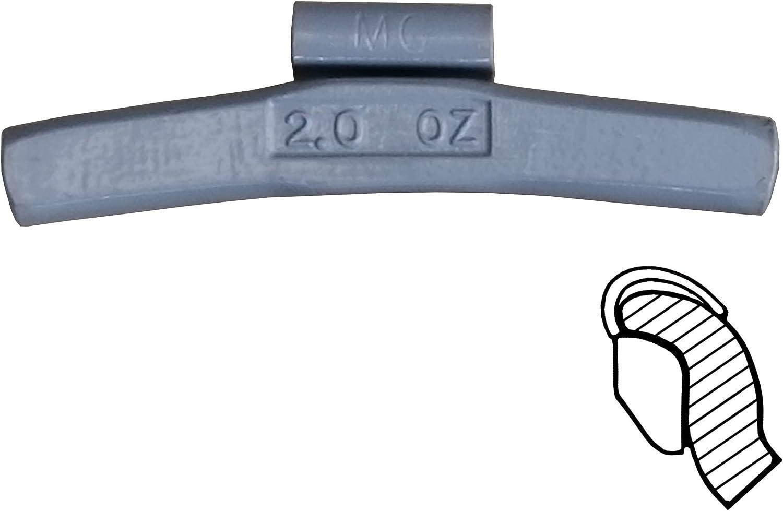 Harzole MC-M70 Lead Free MC Type Wheel Weight Kit 70pcs