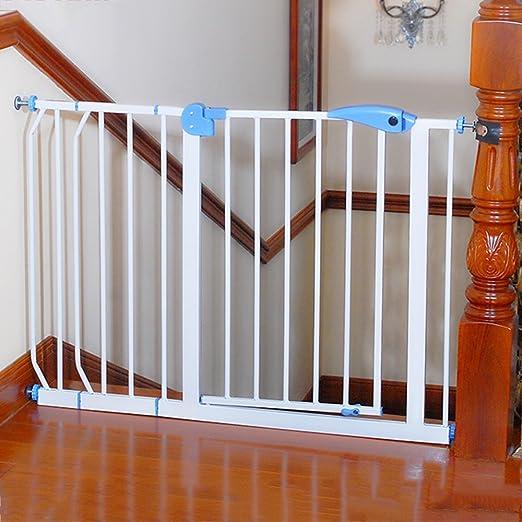 Brisk- Puerta De Seguridad \ Puerta De Seguridad Para Niños \ Barandilla Para Bebe \ Puerta De La Calle \ Barrera Para Escaleras Para Bebe \ Golpe Libre 1m: Amazon.es: Hogar