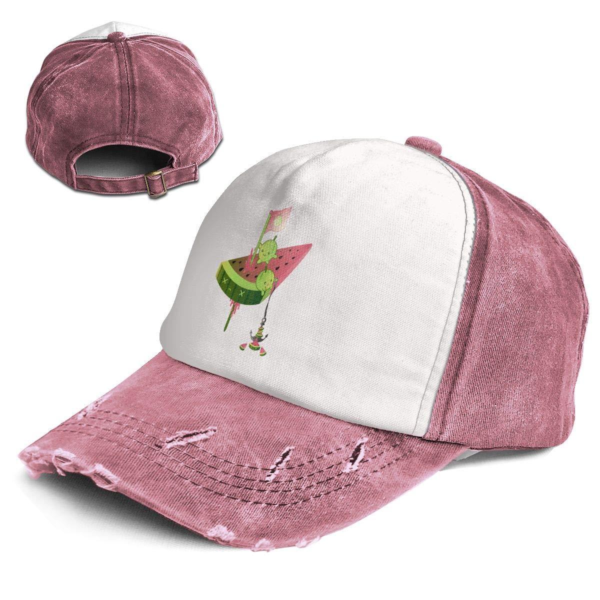 ddc9c685499 RGECXA Unisex Fashion Baseball Cap Melon Vs Watermelon Adjustable Dad Hat  at Amazon Men s Clothing store
