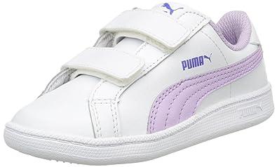 Puma Smash Fun LV, Baskets Basses Mixte Enfant