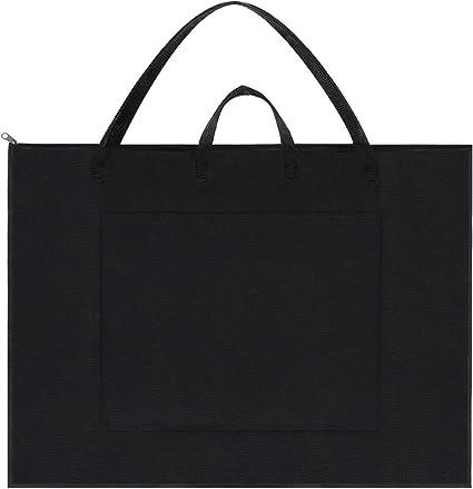 Large Size Art Portfolio Tote Art Supply Nylon Artist Portfolio Carry Bag