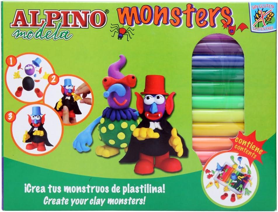 Alpino DP000131 - Kit plastilina: Amazon.es: Juguetes y juegos