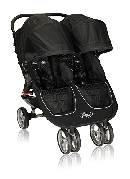 Baby Jogger City Mini Doble negro negro