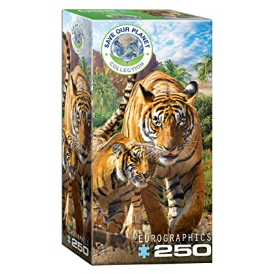 EuroGraphics Tigers 250-Piece Puzzle: Toys & Games