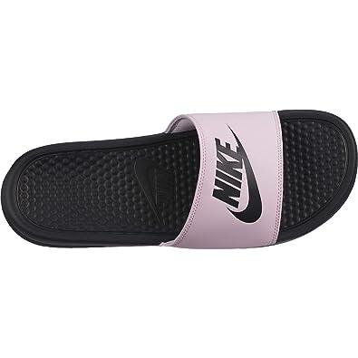 uk availability c5b6a 3a978 Nike Men s Benassi Just Do It. Sandal, Pink Foam Black Black (