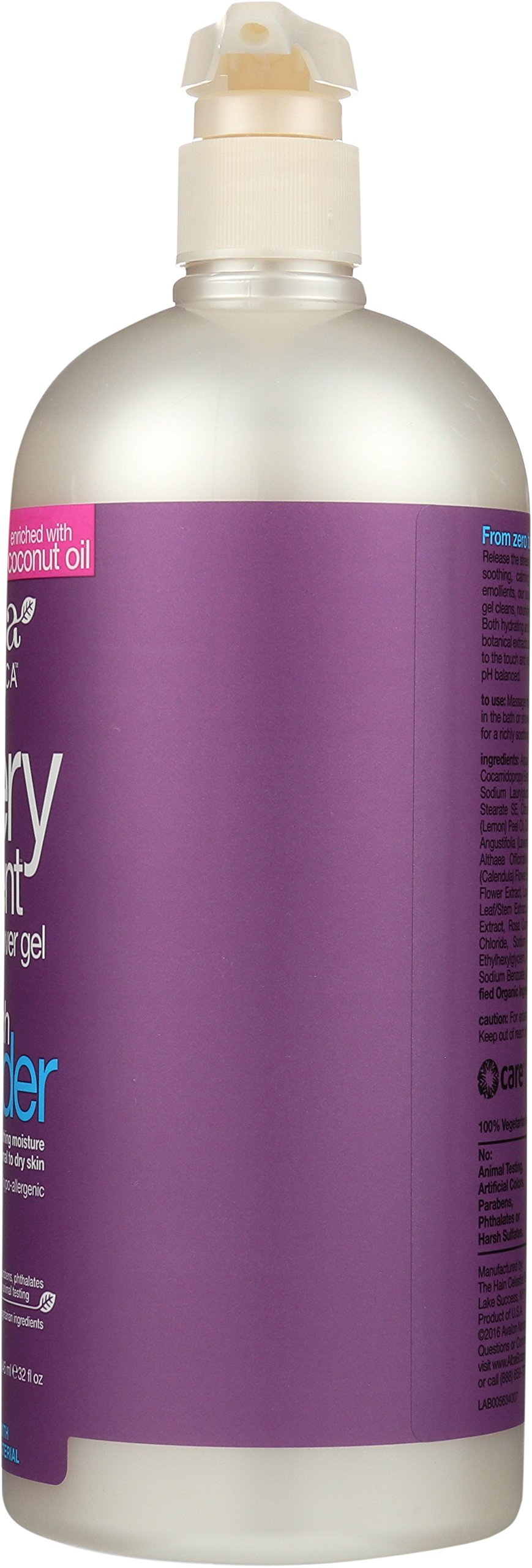 Alba Botanica Very Emollient, French Lavender Bath & Shower Gel, 32 Ounce by Alba Botanica (Image #9)