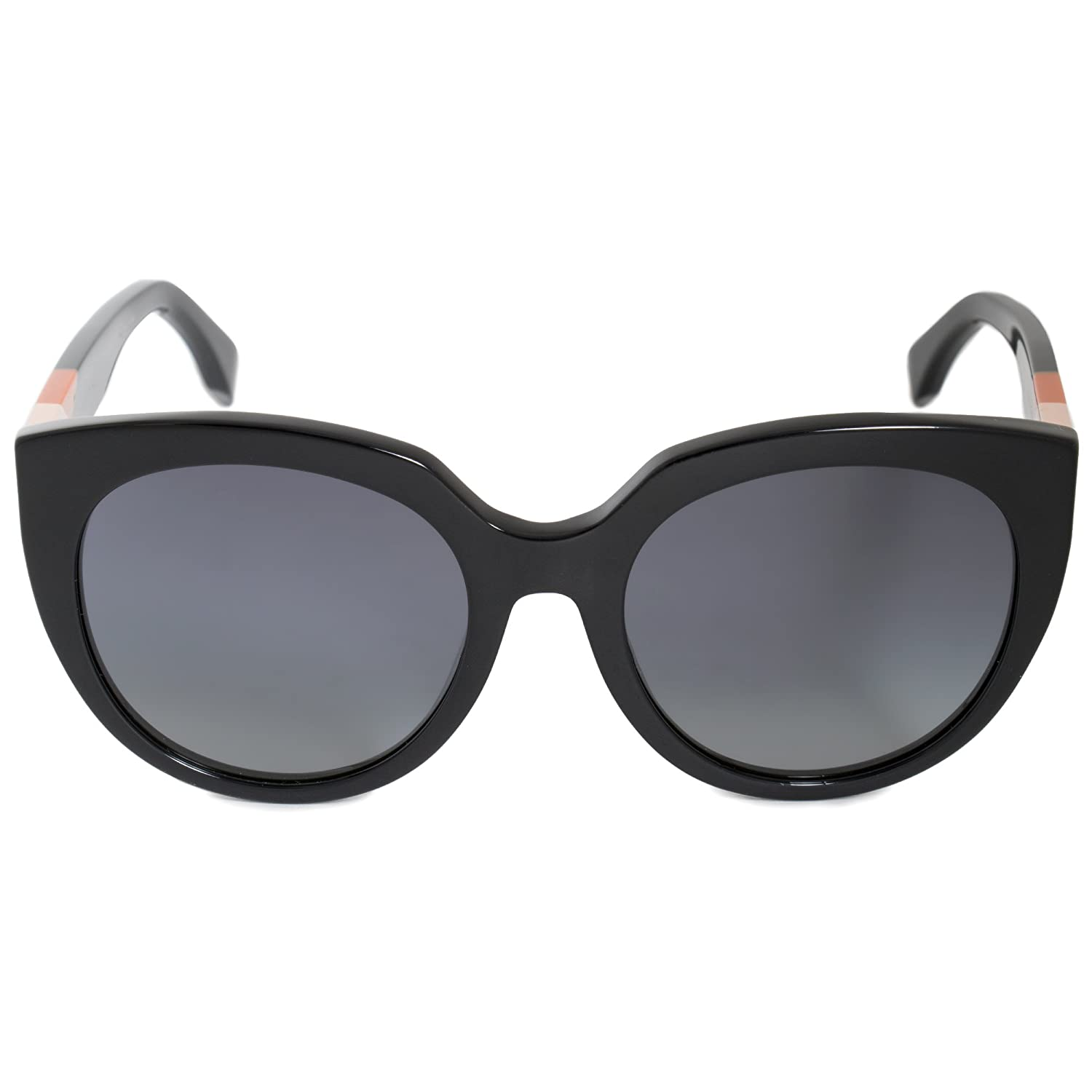054e6ff8 Sunglasses Fendi Ff 182 /F/S 0807 Black/HD gray gradient lens at ...