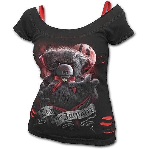 Spiral –  T-shirt – Maniche corte – Donna