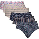 Jockey Women's Cotton Printed Hipster Panty Pack