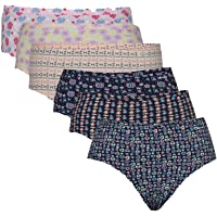 Jockey Women's Cotton Printed Hipster Panty Pack