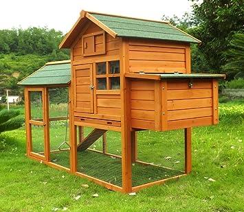 Designer Hühnerstall hühnerstall hühnerhaus geflügelstall nr 06 collosus mit gehege