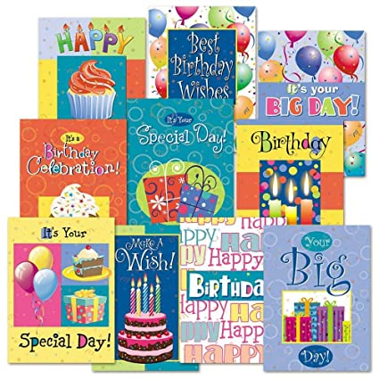Amazon Birthday Fun Greeting Cards Value Pack