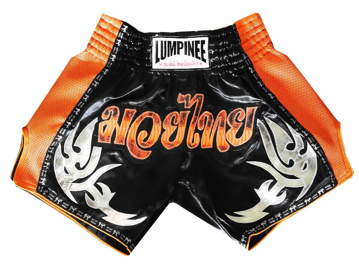 Lumpinee Muay Thai Kick Boxing Shorts : lum-039 LUM-039-黒 X-Large