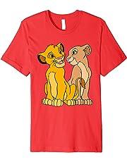 Disney The Lion King Young Simba and Nala Together T-Shirt