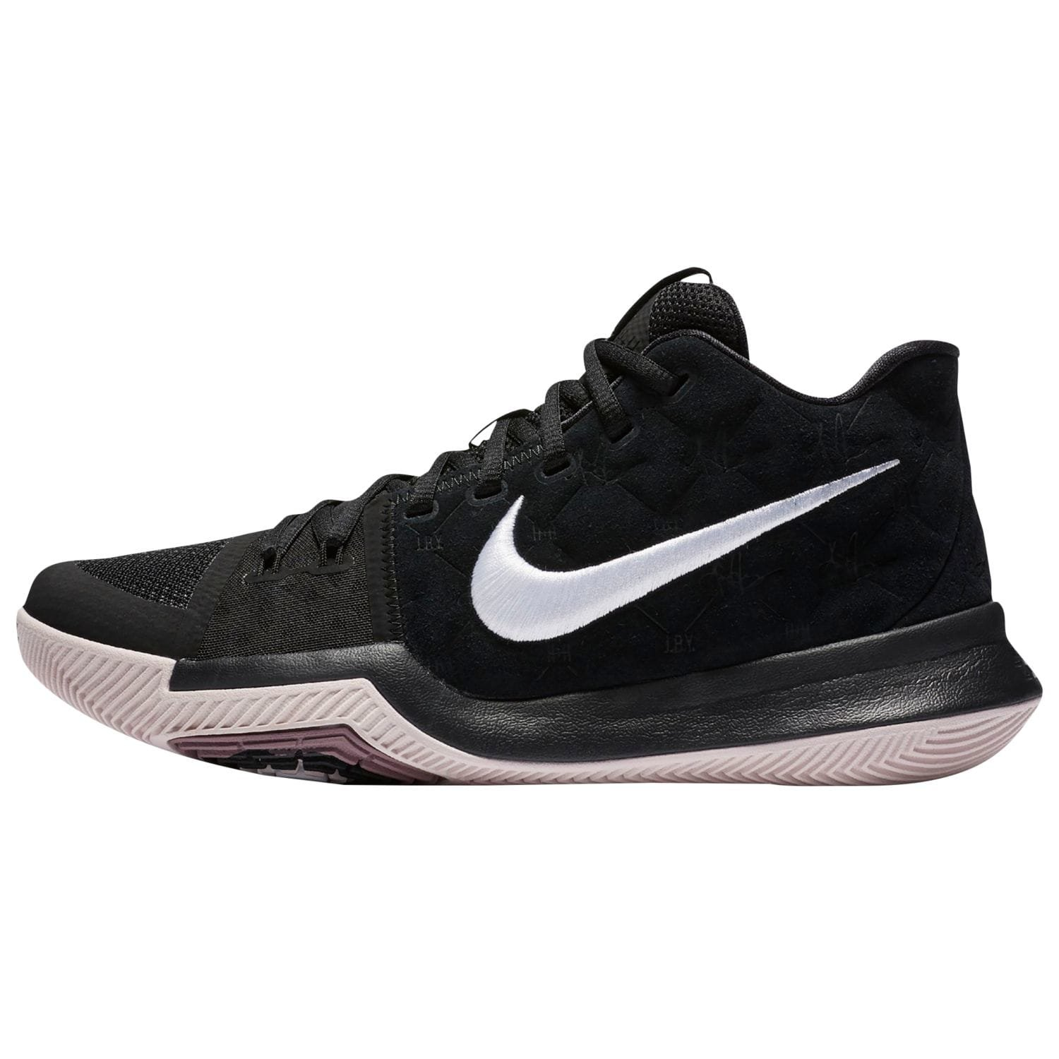 bc34d4c50f00 Amazon.com  NIKE Kyrie 3 Basketball Shoes Mens Kyrie Irving Black White-Silt  Red New 852395-010 - 7.5  Sports   Outdoors