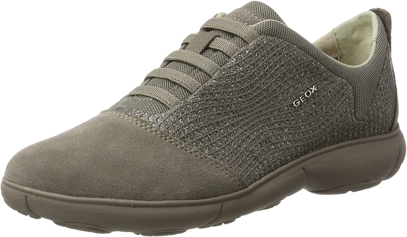Geox Women's D Nebula A Sneakers, Taupe