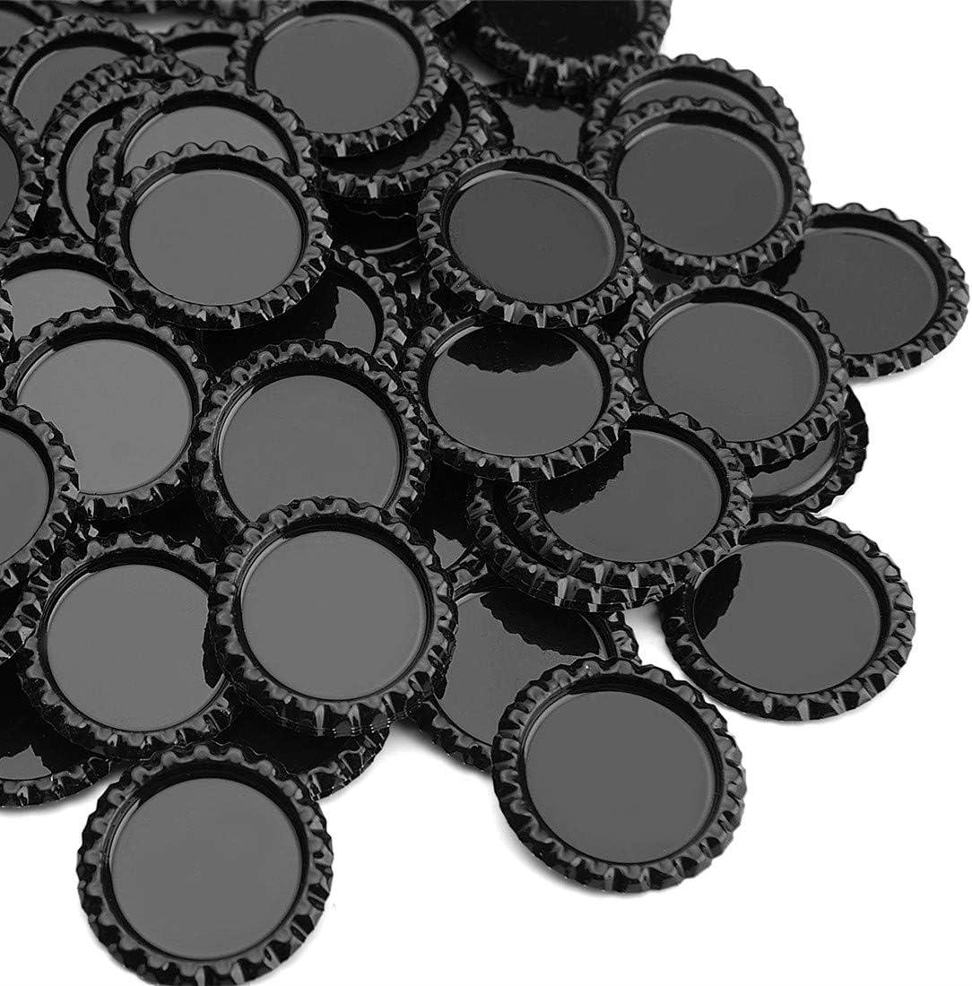 Standard Bottle Caps - Black