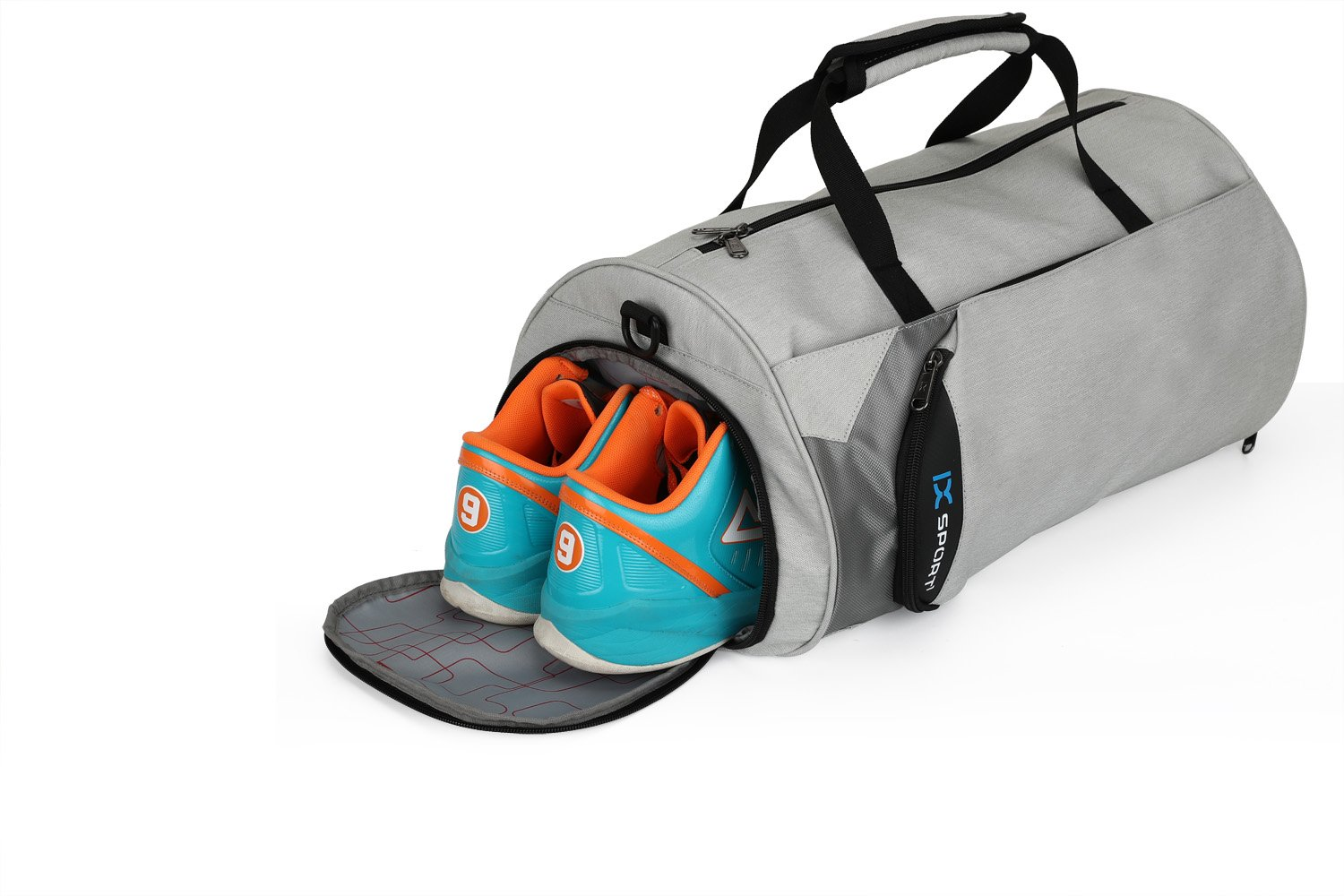 f9d2bb2f337 INOXTO Fitness Sport Small Gym Bag with Shoes Compartment Waterproof ...