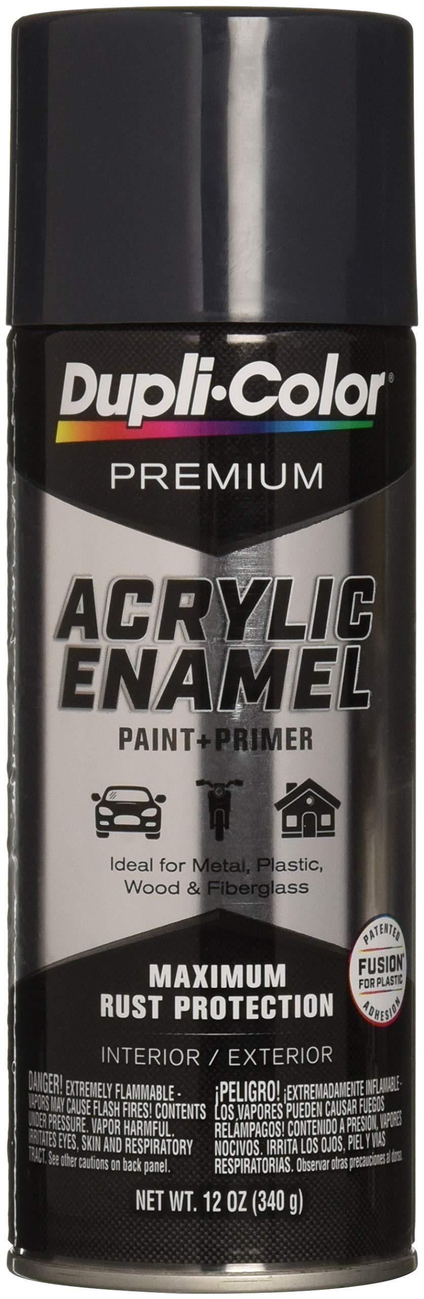 Dupli-Color EPAE10800 Premium Acrylic Enamel Spray Paint (PAE108 Gunmetal 12 oz), 12. Fluid_Ounces