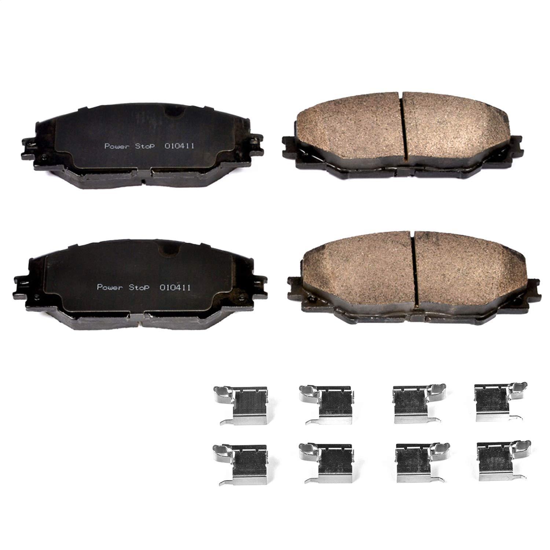 Z17 Evolution Ceramic Front Brake Pads Power Stop 17-1211