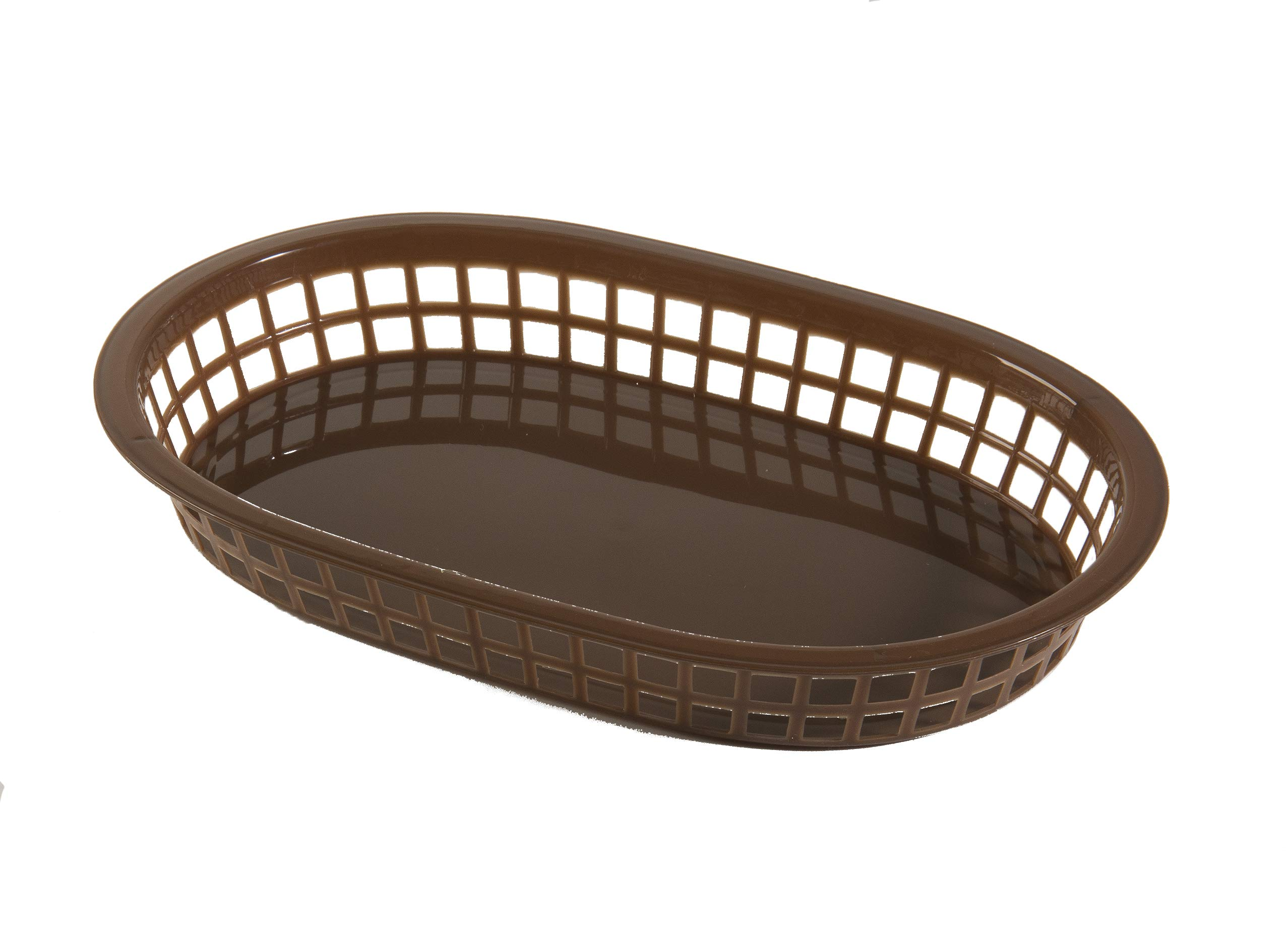 Update International (BB107B) Oval Fast Food Baskets [Set of 12]