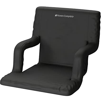 Home Complete Wide Stadium Seats Chairs For Bleachers Or Benches   Enjoy  Extra Padded Cushion